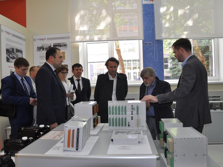 The representatives of OME Electric Motors (Italy) visited CHEAZ