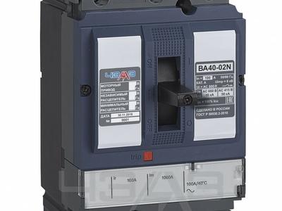 Выключатель автоматический ВА40-02N